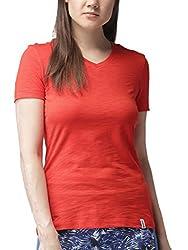 2GO V-Neck Half Sleeves Go Dry T-Shirt