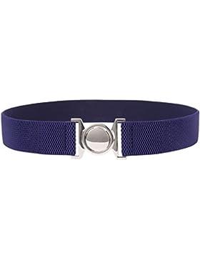 GRACE KARIN Cinturón de Cintura Elástica para Mujer Cintura con Hebilla Vintage