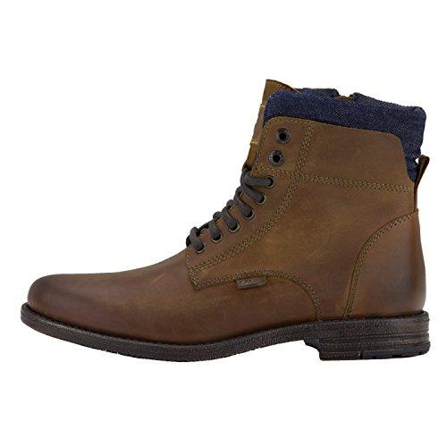 Levi's Men's Leather Shoes, Emerson Collar Bottines, Bottes, Jean Insert