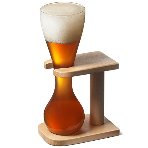 glass-quarter-yard-of-ale-with-stand