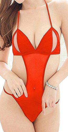 Shararat Sexy Honeymoon Lingerie For Women / Ladies and Girls Nightwear Net Babydoll Dress Sleepwear