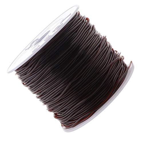 ische Stretch Threads Elastische Schmuckfaden Gummifaden Faden Beading Thread Handwerk Schmuck Armband Herstellung Schnur - Kaffee braun, 44 mm ()