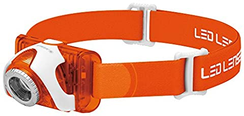 LEDLENSER seo3-or LED Head Taschenlampe (orange)–test-it Pack, 6104