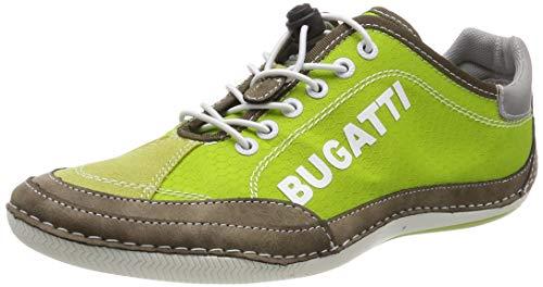 bugatti Herren 321480075900 Sneaker Grün (Green 7000), 45 EU