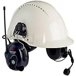 3M MT7H7P3E4410-EU - Lite-Com Plus, PMR 446, para casco P3E mic dinámico