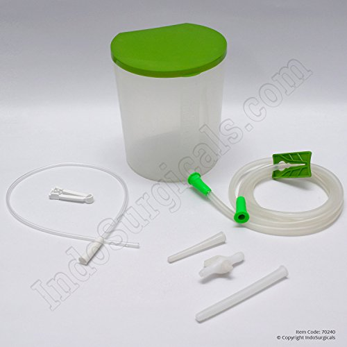 IndoSurgicals Enema Kit (PVC) with Enema Colon Tip