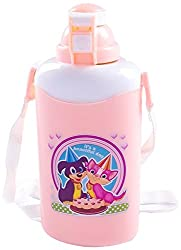 Cello Easy Water Bottle, 600ml, Peach