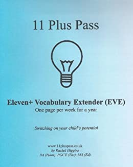 Eleven+ Vocabulary Extender (EVE) by [Higgins, Rachel]