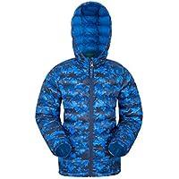 Mountain Warehouse Seasons Jungen Gefütterte Jacke - Gefütterte Isolierung Winterjacke, wasserdicht Kinderjacke, Taschen - Ideal für den täglichen Gebrauch