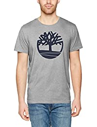 Timberland Ss Brand Tree Tee, T-Shirt Homme