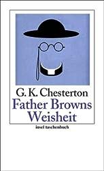 Father Browns Weisheit: Erzählungen (insel taschenbuch)