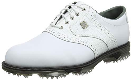 Footjoy DryJoys Tour, Scarpe da Golf Uomo, Bianco (Blanco 53700), 45 EU