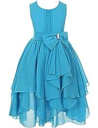 Amazon.it  abito azzurro - Abiti   Bambine e ragazze  Abbigliamento 2cb790886d5