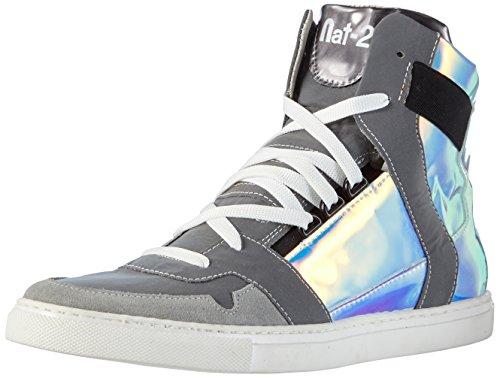Nat-2 Cube 3 M, Baskets hautes homme Multicolore - Mehrfarbig (reflective vanish)