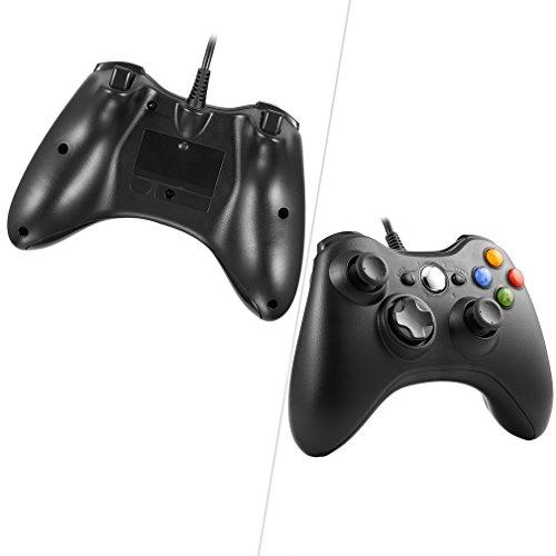 Xbox 360 Controller, Gamepad Xbox 360, Xbox 360 Common Treiber für Windows XP / 7/8/10, Android (TV-Box / Smartphone / Tablet)