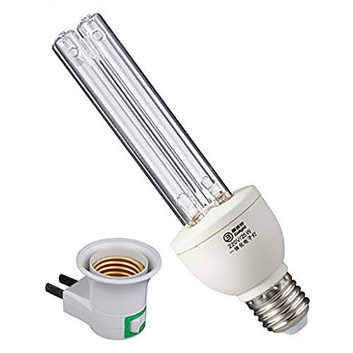 UV-Lampen E27 15W / 25W Desinfektionslampe Sterilisationslampe UVC antibakterielle Rate 100% Tragbares UV-C LED-Desinfektionsmittel Licht desinfizieren Sterilisationslicht für den Haushalt -