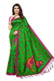 Softieons Ecommerce Women's Mysore Silk Saree [Sarees below 500 rupees, sarees below 1000 rupees, sarees for women 2019, sarees for women below 500]