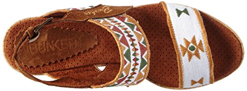 BunkerSandal - Sandali Donna Multicolore (Multicolore (ICE))
