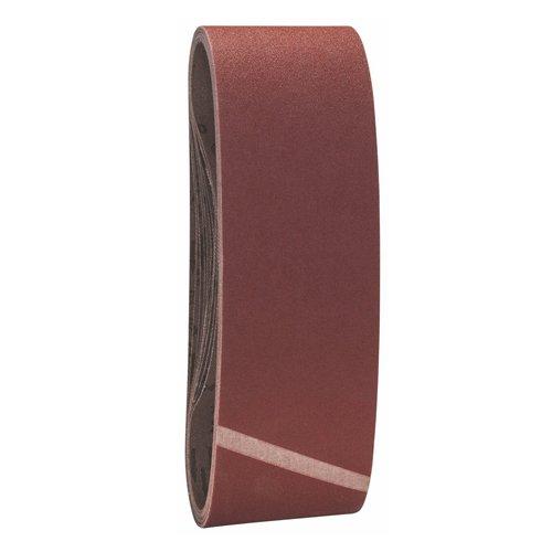 Bosch Pro Schleifband für Bandschleifer Holz und Farbe Best for Wood and Paint (10 Stück, Körnung 120, X440)