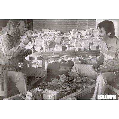 Johnny Depp Poster Blow - Poster di grandi dimensioni: 91,5 cm x 61 cm