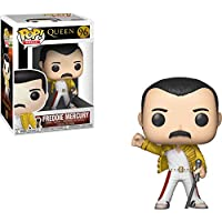 Funko- Pop Vinyl: Rocks: Queen: Freddie Mercury (Wembley 1986) Figura Coleccionable, Multicolor, Estándar (33732)