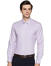 Arrow Men's Checkered Slim Fit Formal Shirt