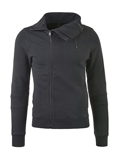 REPLAY Herren Sweatjacke, schwarz