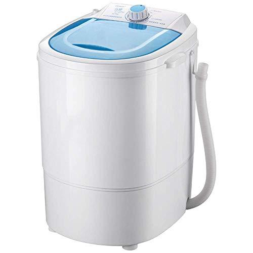 niatur-halbautomatisches, kompaktes, tragbares Design mit Zeitfunktion, antibakteriellem Blu-Ray-Waschen, für den privaten Schlafsaal (Kapazität von 4,5 kg) ()