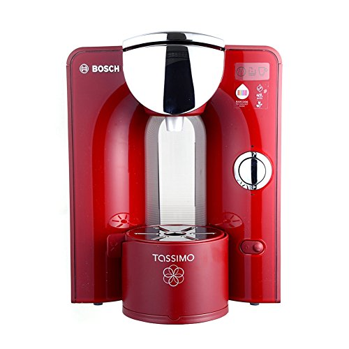Bosch Tassimo T55 Red Machine Capsule Coffee Only 220 V