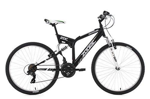 KS Cycling Zodiac VTT Tout Suspendu Mixte Adulte, Noir