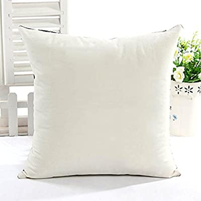 HuntGold 1X Owl Linen Cotton Decorative Throw Pillow Case Cushion Cover(Type E) produced by AvenueShop - quick delivery from UK.