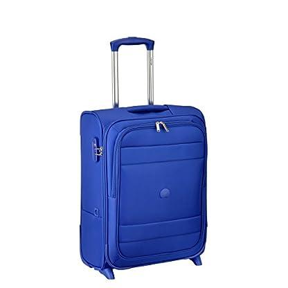 DELSEY PARIS INDISCRETE Equipaje de mano, 55 cm, 37 liters, Azul (Bleu Clair)