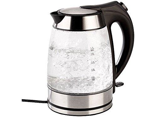 Wasserkocher mit temperaturabhängige LED-Beleuchtung, 1,7 Liter, 2200W