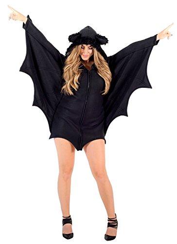 Women's Cozy Lady Bat Costume (Adult X-Large)