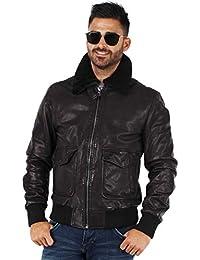 084832ccf93b Amazon.fr   cuir - Daytona   Manteaux et blousons   Homme   Vêtements