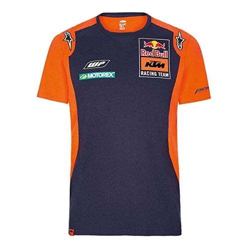 Red Bull KTM Racing KTM RB Kids Team Tee Navy/Orange, L/152 -