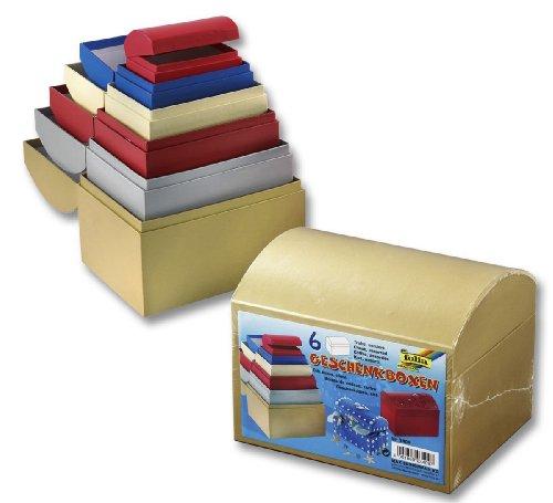 Folia Geschenkboxen, Pappschachteln