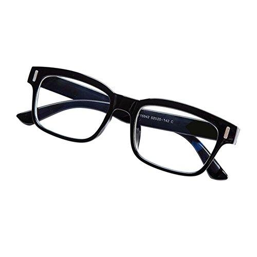 Haodasi Herren Damen Beschichtet Anti-Strahlung Kurzsichtigkeit Brillen Kurzsicht Kurzsichtig Eyeglass Stärke -1.00 to -4.00 mit Hart Fall (Diese sind nicht Lesen Brille)