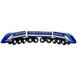 Small Foot - 10332 - Train À Grande Vitesse - Éclair Bleu