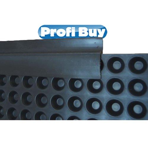 Abschlussprofil PVC für Grundmauerschutz | 20 x 2m Elemente VE = 40m