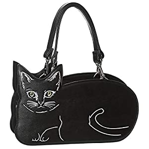 Banned Bolso Kitty Kat (Negro)