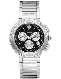 Versace LANDMARK ROUND ZLC99D002S099 - Reloj de caballero de cuarzo con correa de metal