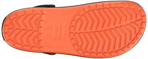 crocs Unisex-Erwachsene Cbndtropicsclg Clogs Rot (Tangerine)