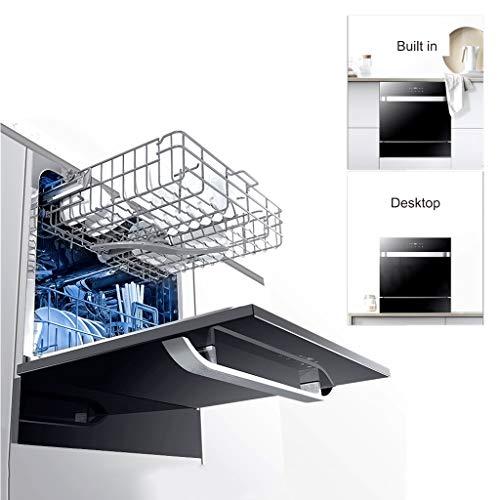 LiXiZ Compact Geschirrspüler, Wäschetrockner, Wäschetrockner, Schrank, 4 Programme, Sparen Wasser Und Strom, Schnell Waschen, Trocknen, 220V Küche Stand-Geschirrspüler -