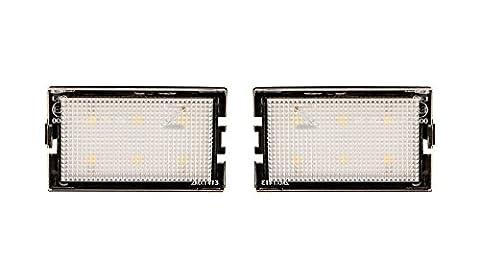 LED matrícula iluminación de matrícula