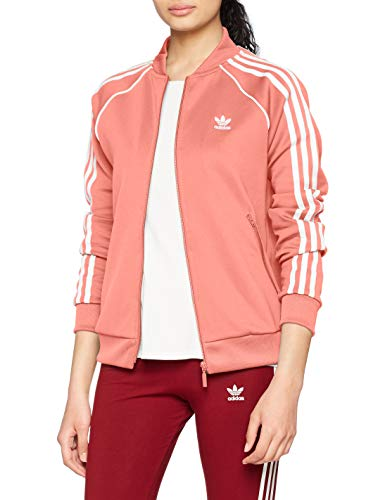 adidas Damen SST Originals Track Jacke, Tactile Rose, 38