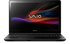 Sony VAIO SVF1521O4EB 39,5 cm (15,5 Zoll) Notebook (Intel Core i5-3337U, 1,8Ghz, 8GB RAM, 500GB HDD, Intel HD 4000, DVD, Win 8) schwarz