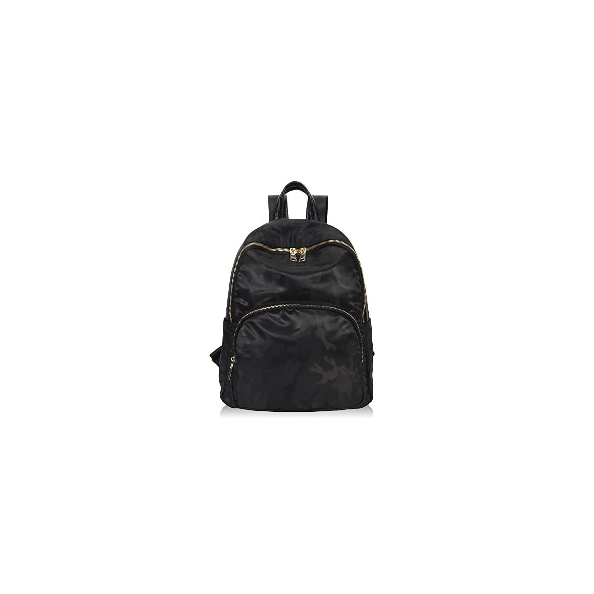 41bW6aXPNuL. SS1200  - Veevan Mochila Nylon Moda Mujer Mochila Escolar Casual Camo Oscuro