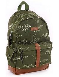 Preisvergleich für Skooter Backpack Wild Ones Green Kinder-Rucksack, 39 cm, Grün (Green)