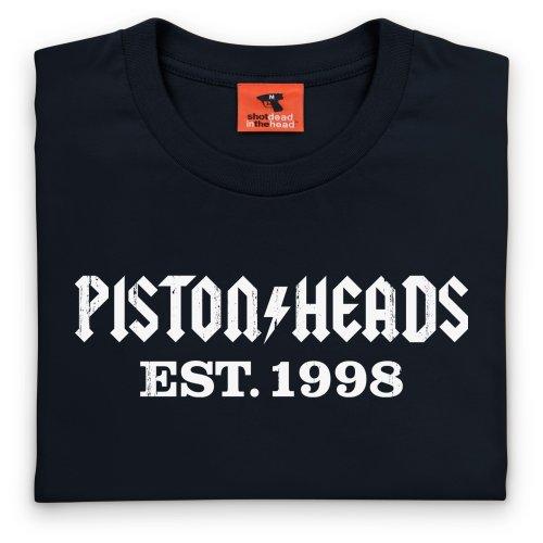 PistonHeads AC T-Shirt, Herren Schwarz